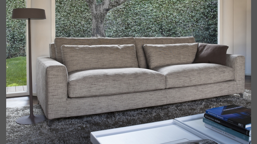 940 Zone Comfort Xl Sofa Fabric And