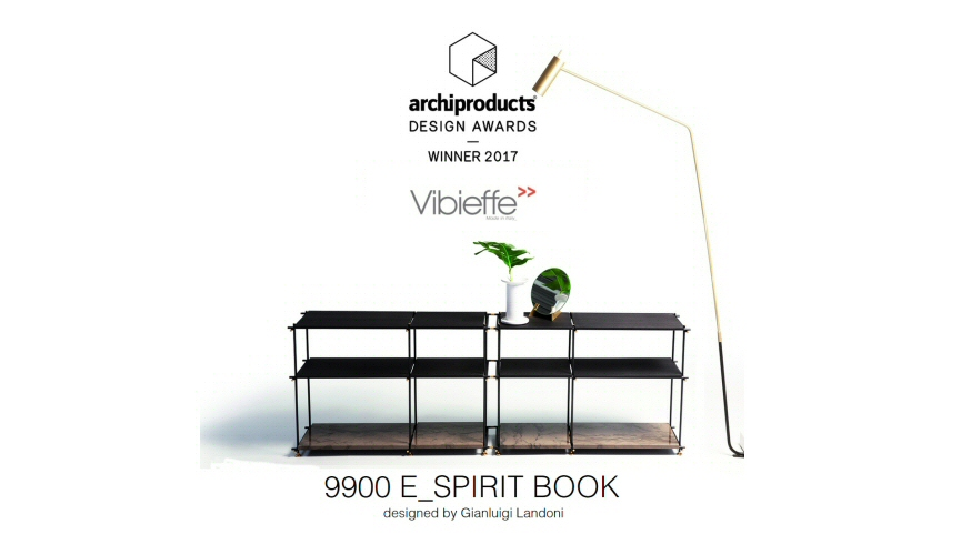 Vibieffe 9900 E_Spirit Book vince il Archiproducts Design Award 2017