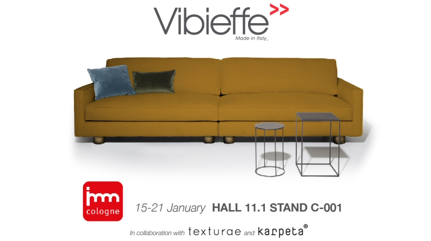 Vibieffe a Imm Cologne 2018