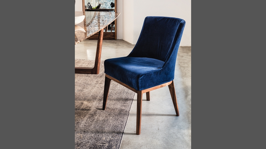 430 opera sedia dining chair fabric or leather dining chair for Sedia wrap
